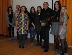 Ján Benčík a študenti